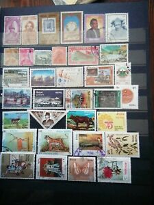 NEPAL 🇳🇵 LOT OF USED  STAMPS