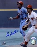 Garry Templeton Psa Dna Coa Autograph 8x10 Photo Hand Signed Authentic