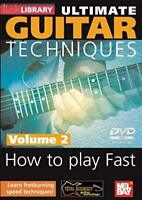 Ultimate Guitar Techniques How to Play Fast Vol 2 by Dave Kilminster DVD