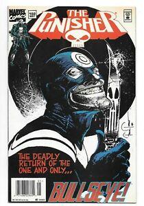 Punisher #102 NM High Grade Rare Newsstand Variant Bullseye Marvel Comics 1995