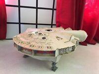Vintage Kenner 1979 Star Wars Millennium Falcon Few Parts Missing