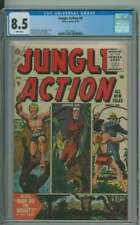 JUNGLE ACTION #4 CGC 8.5 WHITE PAGES