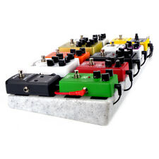 Single Electric Guitar Pedal Board 50 x 25cm Pedalboard without Carrying Bag