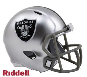 Raiders Riddell Pocket Pro Mini Football Helmet - New in Package