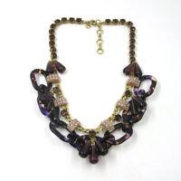 New Jcrew Bib Statement Necklace Short Gift Vintage Women Party Wedding Jewelry