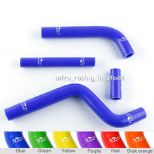 Blue For YAMAHA YZ 125 2002-2017 Radiator Silicone Coolant Hose Heater Tubing