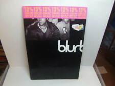 More details for blur – blurbook large paperback book harper collins 1995