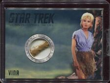 "Star Trek TOS Captains Collection Vina (Susan Oliver) Relic Card ""The Cage"""""