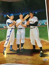 Authentic Duke Snider Signed Picture