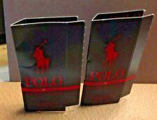 Ralph Lauren Polo Red Extreme Parfum SPRAY SAMPLE SIZE 1.5 ml. GET 2 SAMPLES