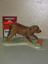 +# A015811_11 Goebel Archiv Muster Hund Dog Spaniel spielt Ball 30-201 glanz