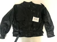 "Hein Gericke Vintage Motorcycle Jacket Real Leather Armpit 23"" Lgth 23"" (828.1)"
