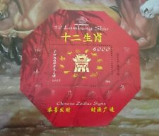 Indonesia 12 Zodiac (Shio) Lunar New Year Mini Sheet MS stamp