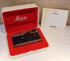 "Leica 10412 - Leica M6 Titanium Body/Gehäuse "" 1a Sammlerstück "" - Boxed !"