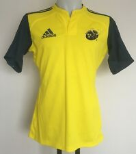 MUNSTER RUGBY S/S YELLOW/NAVY JERSEY BY ADIDAS SIZE MEN'S 44 INCH CHEST NEW