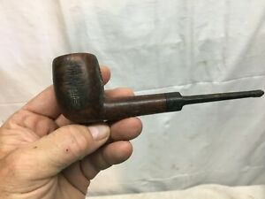 Vintage Johnson Smoking Pipe Lovat Style Carved 6in Smoking Pipe Imported