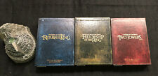 LORD OF THE RINGS Trilogy Special Extended Edition 12 DVDs with WETA Statue