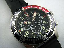 ZENO WATCH Airplane Diver Quartz Chronograph