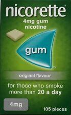 Nicorette Originale 4mg Gum - 105 pezzi (AUTENTICA)