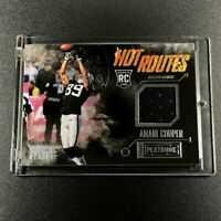 AMARI COOPER 2015 PANINI PLAYBOOK HOT ROUTES #HR-AC JERSEY ROOKIE CARD RC NFL