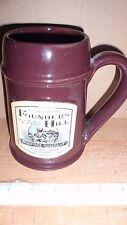 1999 Mug Club Member Founders Hill Brewing Company Mug Downers Grove Illinois