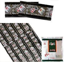 Korean Roasted Seaweed  Seasoned Laver Snacks Sake Tidbits 320 sheets