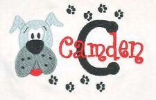 Personalized Bulldog Dog Puppy Paws with Just Name or for Birthday T Shirt