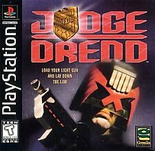 Judge Dredd (Sony PlayStation 1, 1998) PS2 PS3 Fast Shipping!