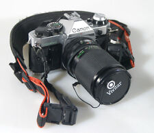 CANON AE-1 PROGRAM WITH35-105MM F3.2-4 ZOOM LENS-WORKS