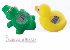 New Dreambaby Bath Room Digital Thermometer Duck / Crocodile Baby Safety Dream