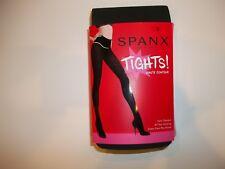 SPANX Charcoal Gray HAUTE Semi Opaque Tummy Control TIGHTS Womens Size D $42 NEW
