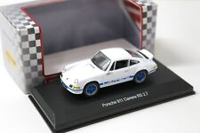1:43 High Speed Porsche 911 Carrera RS 2.7 white NEW bei PREMIUM-MODELCARS