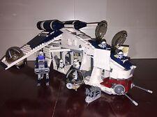 Lego Star Wars Custom 501st Republic Attack Gunship w Minifigs 75021 Style L@@K