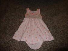 PETIT BATEAU 18M 81 18 MONTHS PINK FLORAL DRESS OUTFIT