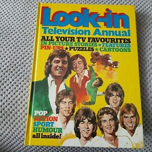 Look-In Annual 1975 Pop Sport Humour etc