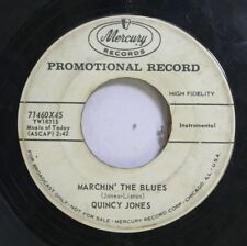 50'S & 60'S Promo 45 Quincy Jones - Marchin' The Blues / Choo Choo Ch' Boogie On