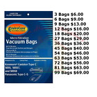 Kenmore Canister Vacuum Cleaner Bags Type C For Models 5055, 50557, & 50588 photo