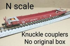 Santa Fe SFLC 48 well car N scale red intermodal MTL double stack COFC container