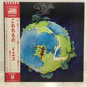 YES / FRAGILE JAPAN ISSUE LP W/OBI, INSERT, BOOKLET
