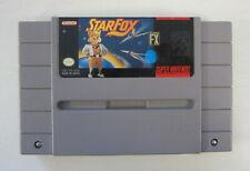 SUPER NINTENDO STARFOX VIDEO GAME TESTED SNES