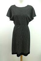 Prada Black and White Polka dot Dress, Size: UK12/EU40.