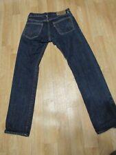 Levis Skinny matchstick Jeans Selvedge 28 x 30 Dark wash