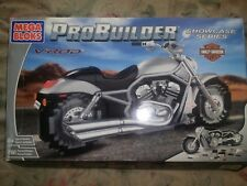 Mega Bloks ProBuilder Harley Davidson V-Rod  opened but never put together .