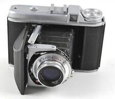 Germany Voigtlander Perkeo II 6x6 Film Camera Color Skopar 80mm f3.5 Lens & Case