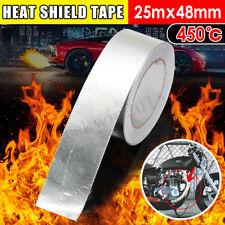 25m Hitzeschutztape Hitzeschild Band 48mm Hitzeschutz Klebeband Tape Auspuffrohr