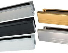 """12"""" Slimline Letterbox For Upvc / Aluminium Doors (315 x 50mm) - All Colours"""