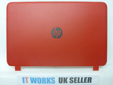 RED HP Pavilion 15-p246sa P series rear screen lid cover - non touch