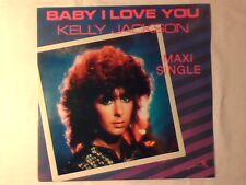 """KELLY JACKSON Baby i love you 12"""" CANADA RARISSIMO SIGILLATO VERY RARE SEALED!!!"""