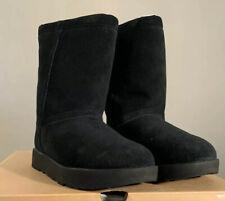 UGG CLASSIC SHORT BLACK, NEW SHEEPSKIN WATERPROOF WINTER BOOTS SIZE 7.5, 1017508
