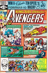 Marvel Avengers, Annual #10, 1981, 1st app Rogue, X-Men, Iron Man, Spider Woman